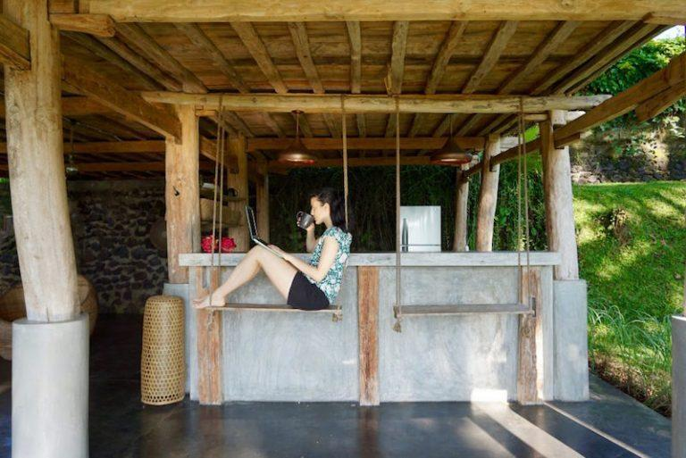 Swing It Like You Mean It At Zen Hideaway Ubud Bali Anje Ni Doma