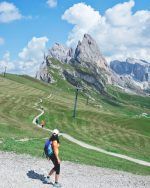 Exploring the slopes of Seceda | Dolomites, Italy