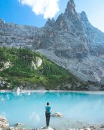 Fairytale lake Lago di Sorapis | Dolomites, Italy
