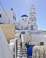 The beauty of Pyrgos | Santorini, Greece