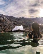 Izlet na vulkan in kopanje v vročih vrelcih | Santorini, Grčija